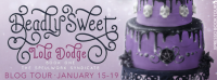 deadly sweet book tour banner, book blog tour, book review, ya paranormal, book about witches
