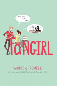 fangirl cover, rainbow rowell book, contemporary book cover, book review, book blog