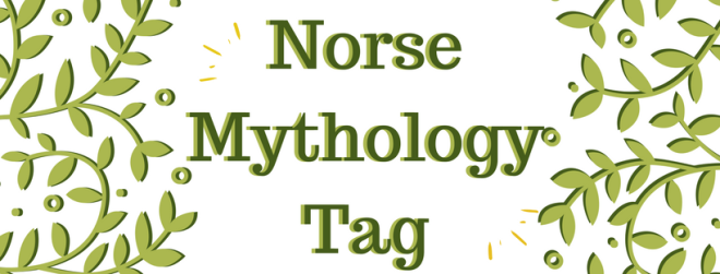 norse mythology book tag, norse gods, book blog banner, book tag