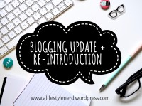 lifestyle blog, book blog, blog update,