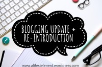 lifestyle blog, book blog, blog update,