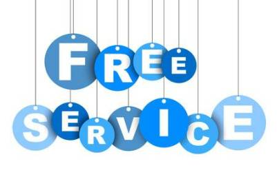 Provide free services to help people this month