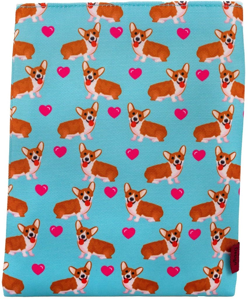 Corgi book sleeve gift for book lovers. Includes gifts every book lover or reader needs. What to get as a gift for a bookworm.