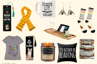 Best gifts for book lovers. Gift ideas for those who loves books. The ultimate gift guide for readers and bibliophiles. Literary-themed gifts for Christmas, holiday and birthdays. Best book gifts to buy for readers and bookworms. Bookish gifts and presents to get for a nerd. Best gift ideas for book lovers. Includes book merch, book accessories, floating shelves, book jewelry, and more!