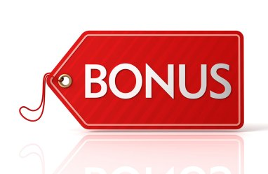 Give Bonuses to employees and service people.