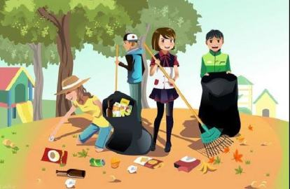 Clean up youe surroundings. Make the environment habitable