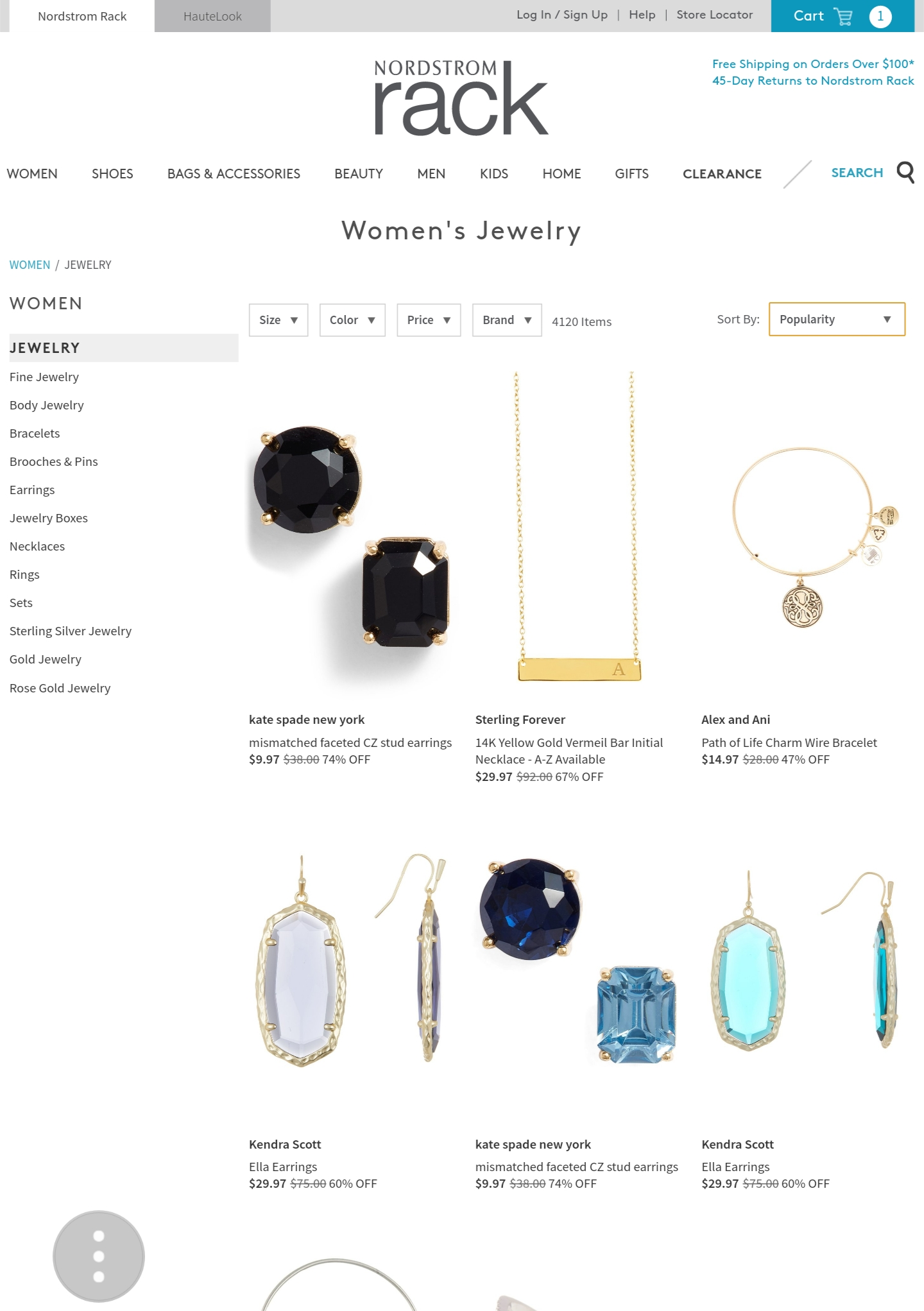 Top place to buy cheap jewelry and affordable jewellery from. Low-priced jewellery for the simple jewelry lovers and bold jewelry. Budget-friendly jewellery for all. Your affordable jewelry gift guide
