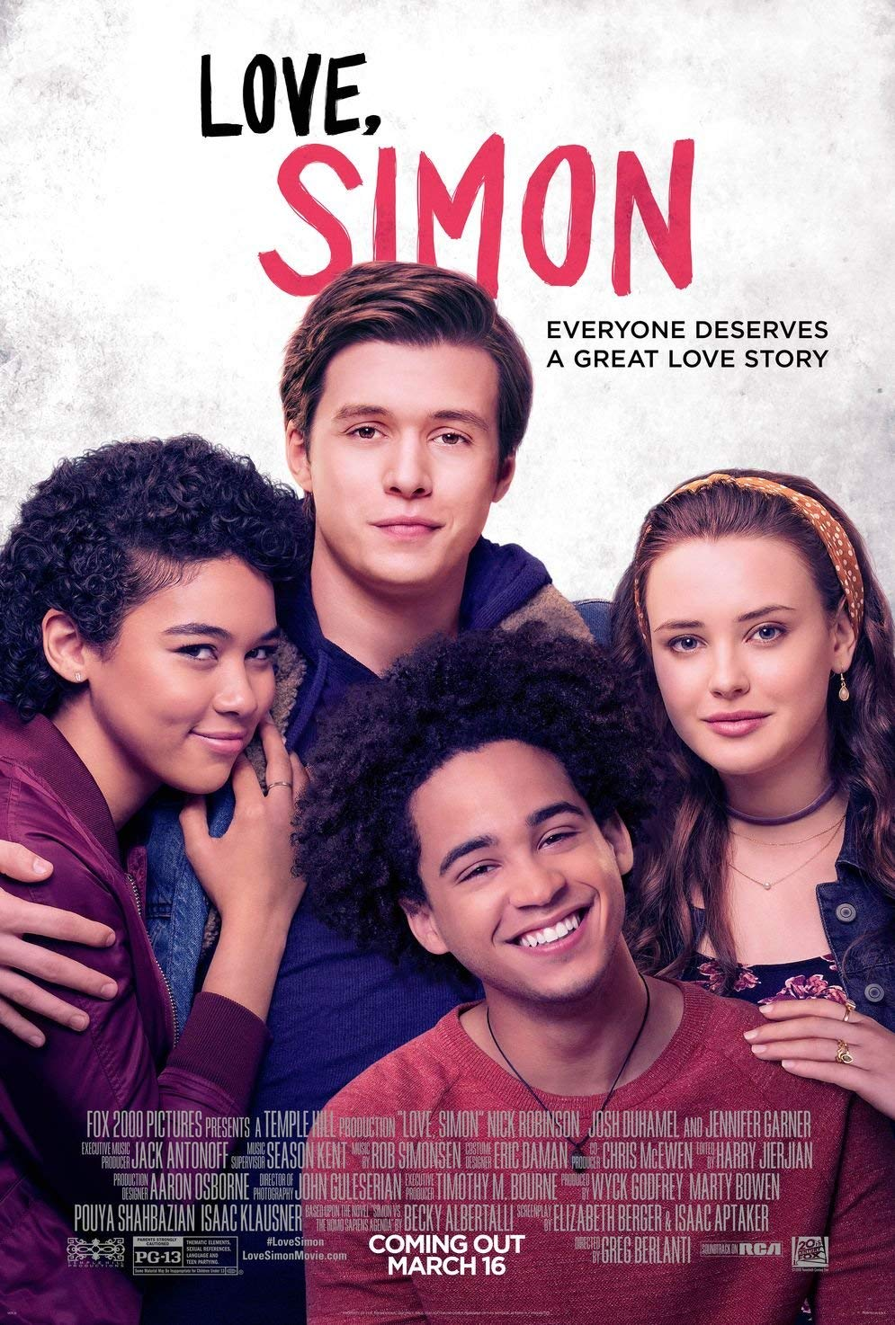 Top romance movies to watch. Best romantic movies of all time. love, simon movie poster. top lgbt romance movies. top 2018 romance movies