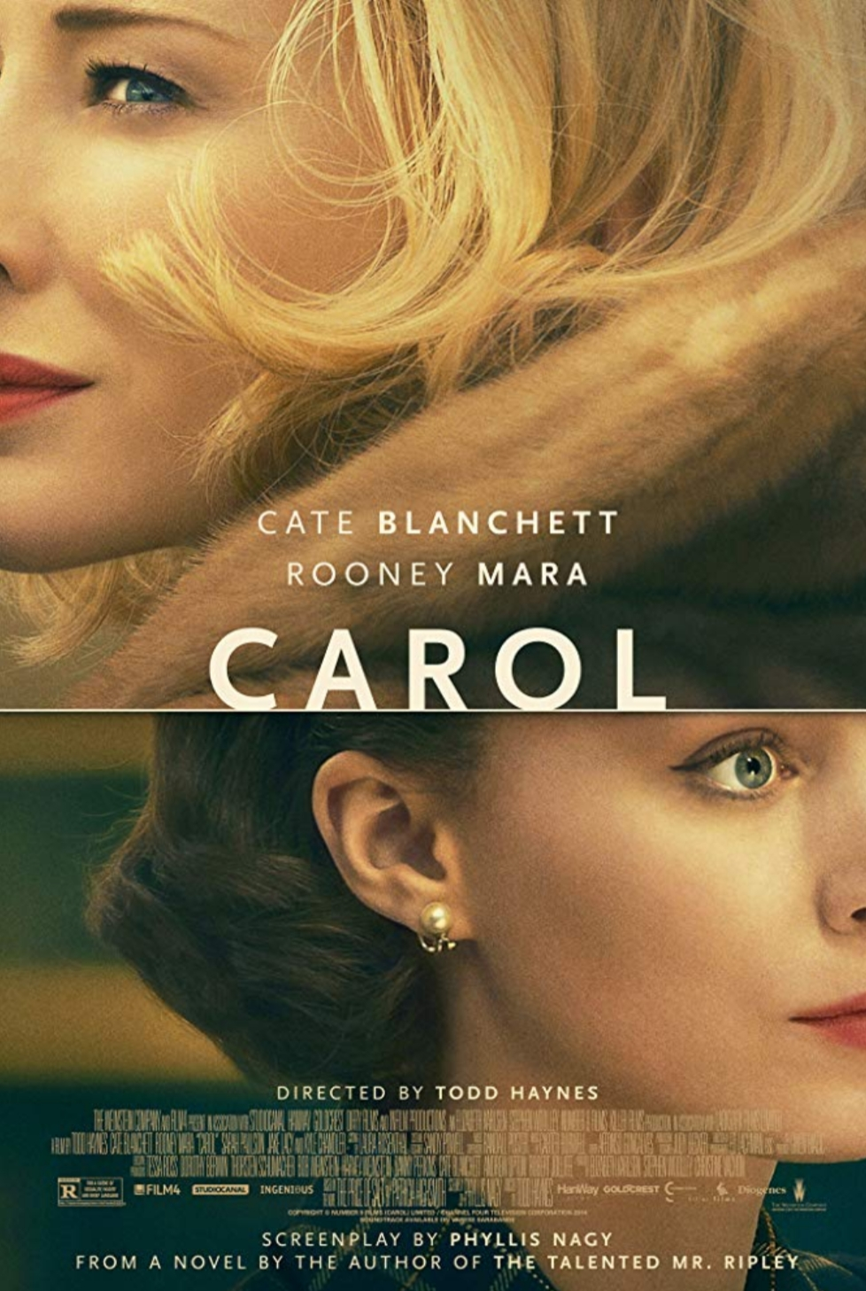 Top romance movies to watch. Best romance movies of all time. top lgbt romance movies. carol movie poster