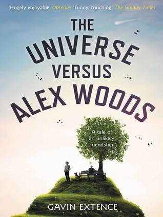 the universe versus alex woods by gavin extence book cover, books to read in summer 2020, feel-good books for 2020,