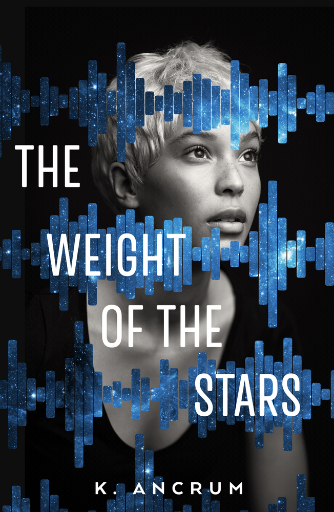 the weight of the stars by k ancrum, summer books to read in 2020, Top ya books 2019, top black books to read, top ya black books, sapphic ya books, black lgbt books, black f/f books,