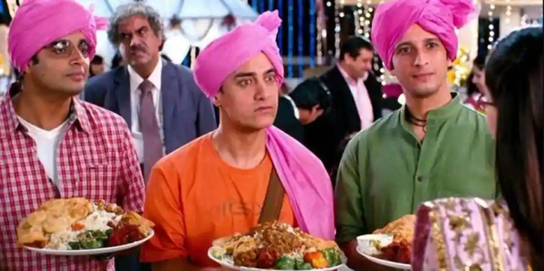 3 idiots movie -  best Bollywood/Indian movies, best classic movies to watch, Top aamir khan films