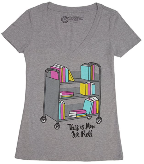 Bookshelf t-shirt gift for book lovers. what to get for a bookworm gifts every book lover or reader needs gifts for bookworms