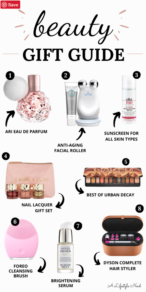 Beauty Gift Guide 2020. Need a few gift ideas for a beauty junkie? Here are the best gifts for the girl that loves all things skincare and makeup! 21 best beauty gifts for every budget - makeup, skincare and haircare gift guide.