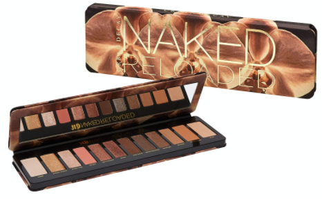 Urban Decay Naked Reloaded Eyeshadow Palette. Best makeup gift ideas for makeup lovers and beauty lovers.  The Ultimate Makeup Gift guide. Best beauty gifts that makeup lovers would appreciate