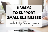 ways to support small businesses and help them grow